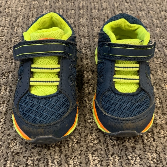 Target Other - Target Baby Sneakers Blue Green 4